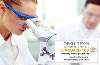 Oeko-Tex zertifiziert