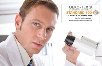 Oeko-Tex geprüft